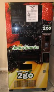 Combo Snack & Drink Vending Machine