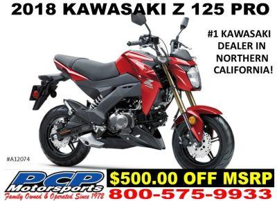 2018 Kawasaki Z125 Pro Sport Motorcycles Sacramento, CA
