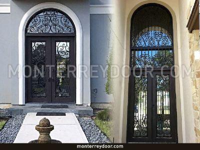 Transom/ Iron Doors