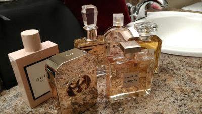 *collection clean out !!!!!* Lot of (6) BRAND NEW Fragrances- Chanel,Gucci,Juicy Couture