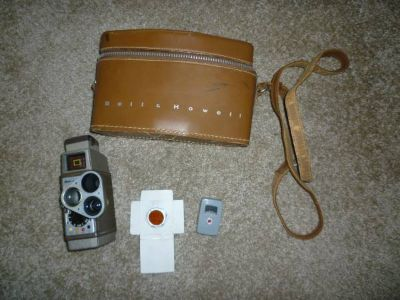 Anique Bell  Howell film video camera