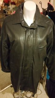 Watershed William Barry leather coat