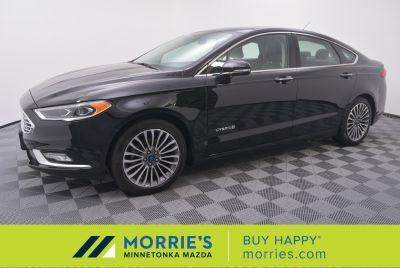 2017 Ford Fusion Hybrid Titanium (Shadow Black)
