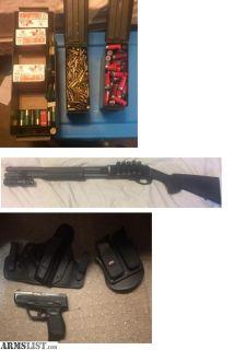 For Trade: Taurus 709 & Remington 870