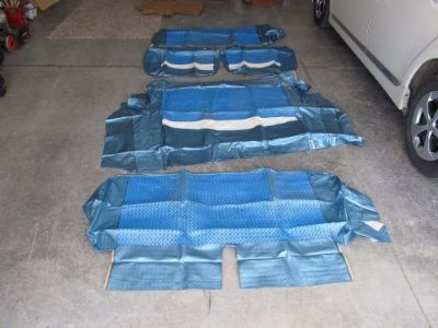 Sell NOS Howard Zink Chevy Mopar 1950's Seat Covers 52 53 54 55 56 57 58 59 60 61 62 motorcycle in Richmond, Kentucky, United States, for US $175.00