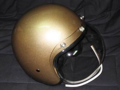 Buy 3/4 gold helmet Daytona helmets motorcycle metallic Medium DOT cruiser helm motorcycle in Canyon Country, California, US, for US $60.00