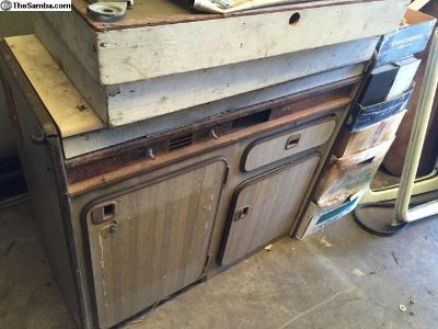 Early Vanagon Westfalia stove/Ice box