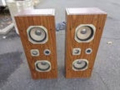 Set of 2 Precision Speaker Components Cat. No 361 Speakers