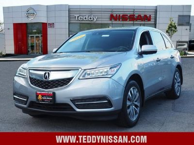2016 Acura MDX Base w/Tech (Lunar Silver Metallic)