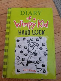 Paperback Diary of a wimpy kid