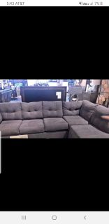 Sofa sectional with sleeper NEW