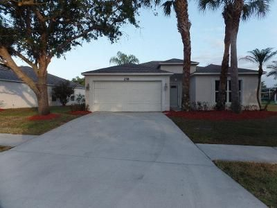 3 Bed 2 Bath Foreclosure Property in Port Saint Lucie, FL 34953 - SW Panther Trce
