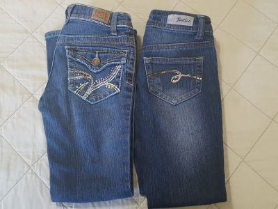 GIRLS SIZE 7 JEANS