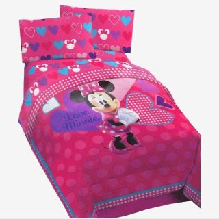Minnie Mouse Twin Bed Set