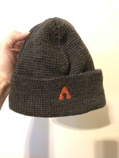 Grey snow hat never used