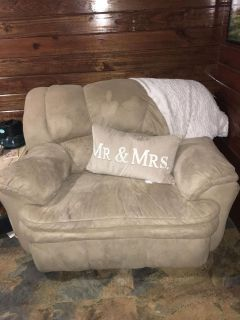 Chair and couch
