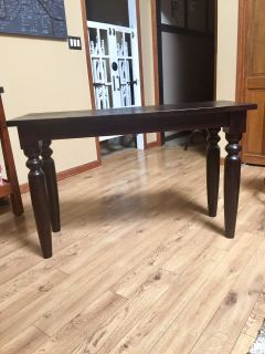 CONSOLE TABLE-all wood
