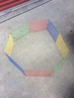 Small animal playpen - used for guinea pigs