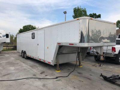 inum car trailer with living quarters2003 Exiss 36' Enclosed