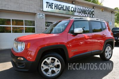2017 Jeep Renegade Limited 4x4 (Colorado Red)