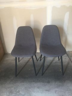 Mid Century Modern Side Chairs.