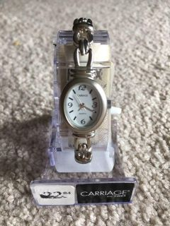 Brand new never worn Timex Carriage brand silver-tone watch