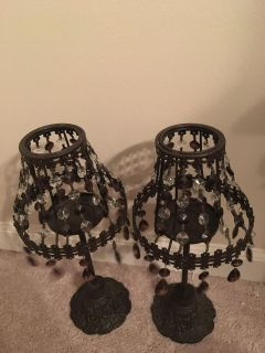 Beautiful candle lamps