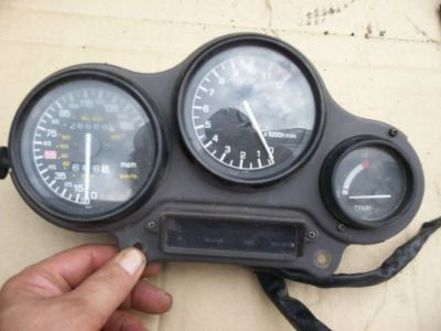 Find YAMAHA FZR GAUGE PACK SPEEDOMETER TACHOMETER BROKE TRIP ? FZR 1000 ? SPEEDO TACH motorcycle in Broomfield, Colorado, United States, for US $99.99