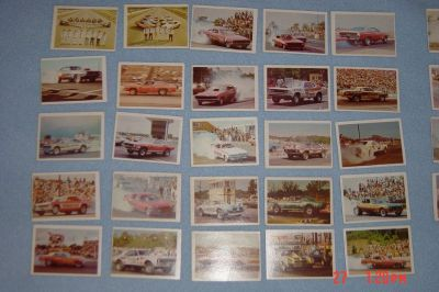 1960s 70s Official Fleer Drag Champs AHRA Collector Cards