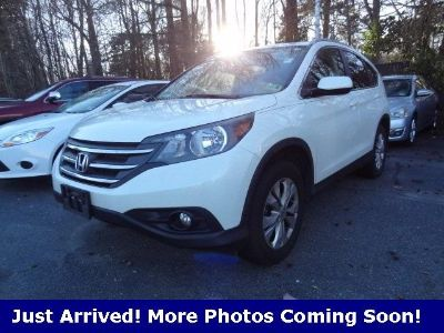 2013 Honda CR-V EX-L (White Diamond Pearl)
