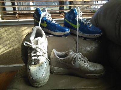 Nike's for sale
