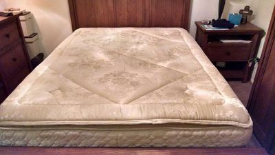 $350, Stearns and Foster Queen Size Mattress