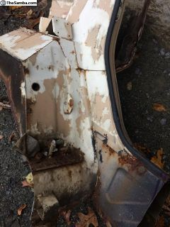 SPLASH PLATE rear drivers side 181809191