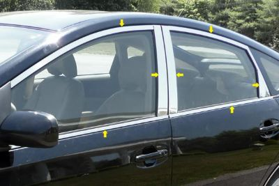 Purchase SAA WP24135 04-09 Toyota Prius Window Package w Pillar Posts Car Chrome Trim motorcycle in Westford, Massachusetts, US, for US $165.60