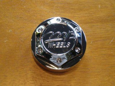 Buy MB Motoring Chrome Custom Wheel Center Cap PN 763-CAP LG0608-38 MB Wheels motorcycle in Holt, Michigan, US, for US $0.99