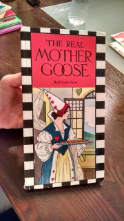 1984 The Real Mother Goose Nursery Rhyme Book