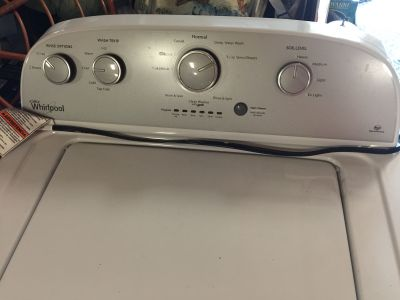 FREE Whirlpool washer. Needs repair