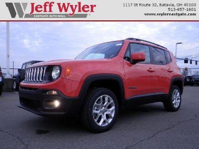 2017 Jeep Renegade Latitude (Omaha Orange)