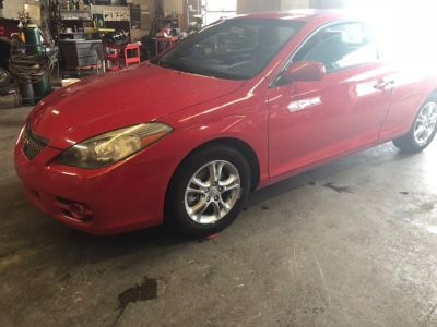 2007 Toyota Camry Solara SE (Absolutely Red)