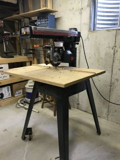 Craftsman Radial Arm Saw and Table