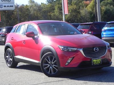 2017 Mazda CX-3 Grand Touring AWD 2.0 4 CYL. / (Soul Red Metallic)