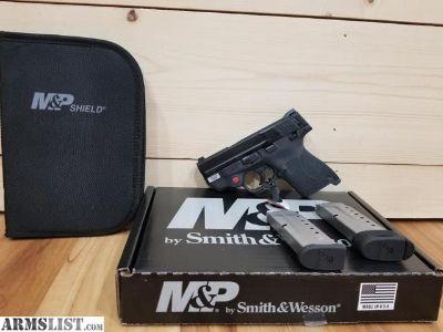 For Sale: Smith & Wesson Shield 9mm M2.0 w/Crimson Trace laser