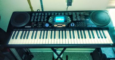 CASIO CTK-533 come with stand