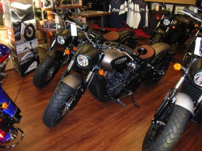 2018 Indian Scout Bobber Cruiser Motorcycles Lincoln, NE