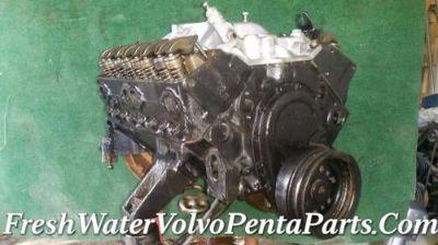 Purchase Chevrolet SBC Gm 350 5.7L 4 bolt main .30 over 010 Block Marine V8 Engine Motor motorcycle in North Port, Florida, United States