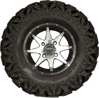 Sell Sedona Rip Saw Storm Tire-Wheel Kit 27x11Rx14 - 5+2 Offset - 4/110 570-5108+1167 motorcycle in New Richmond, Wisconsin, United States, for US $275.95