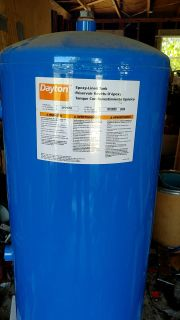 Dayton Epoxy Lined 42 Gal 75 PSI Reservoir Tank