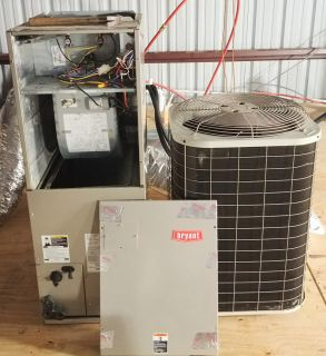 Bryant 2.5 ton Heat Pump with 10kw extra heat