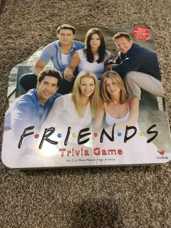 Friends Trivia game never used