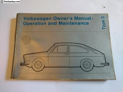 Type 3 owners manual